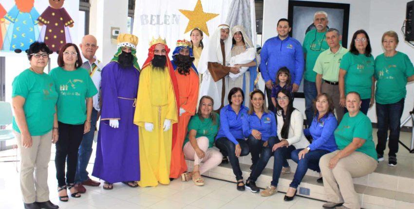 Fiesta de Reyes de Credicentro-Coop en Barranquitas